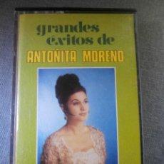 Casetes antiguos: CINTA DE CASSETTE - ANTOÑITA MORENO - GRANDES EXITOS - OLYMPO - 1973 -. Lote 55127955