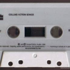 Casetes antiguos: HARPER COLLINS ACTION SONGS 1994. Lote 55346278