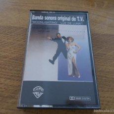 Casetes antiguos: BANDA ORIGINAL DE TV. MOONLIGHTING. LUZ DE LUNA. Lote 56081161