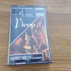 Casetes antiguos: VIENA. WERNER MULLER Y SU ORQUESTA.. Lote 56082986
