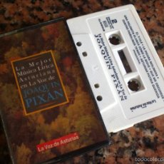Cassetes antigas: MÚSICA ASTURIANA CON JOAQUÍN PIXÁN. Lote 56208551