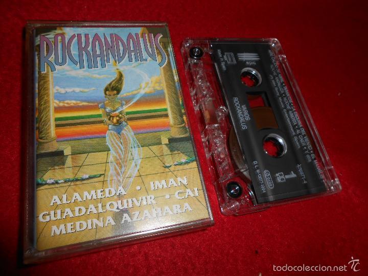 ROCKANDALUS ALAMEDA+IMAN+CAI+GUADALQUIVIR+MEDINA AZAHARA K7 CASSETTE 1994 EPIC ROCK ANDALUZ (Música - Casetes)