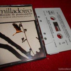Casetes antiguos: MILLADOIRO ALBORADA DE PONTECALDELAS Y OTROS GRANDES EXITOS K7 CASSETTE 1991 CBS SONY GALIZA. Lote 56542330