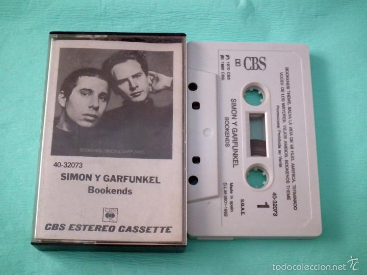 SIMON & GARFUNKEL - BOOKENDS (Música - Casetes)