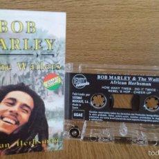 Casetes antiguos: BOB MARLEY & THE WAILERS. AFRICAN HERBSMAN. MC / EXIT RECORDS - 1992 / CALIDAD LUJO.. Lote 56849721