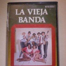 Casetes antiguos: CINTA DE CASSETTE - CASETE - LA VIEJA BANDA - ABANICO - 1989. Lote 210181497