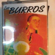 Casetes antiguos: LOS BURROS-REBUZNOS DE AMOR- CASSETTE. Lote 56908127