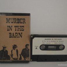 Casetes antiguos: MURDER IN THE BARN - 1989 - MUY RARO - MOVIDA MALLORCA. Lote 56989990