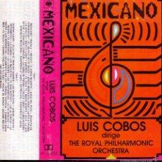 Casetes antiguos: MEXICANO -- LUIS COBOS ... CASETE. Lote 57108549