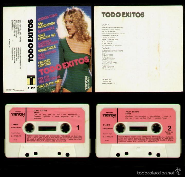TODO EXITOS - SPAIN CASSETTE 1978 - BEATLES PAUL McCARTNEY COVER (London  Town) - Covers NO Original