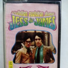 Casetes antiguos: JESS & JAMES. REVOLUTION, EVOLUTION, CHANGE. CASETE BELTER 91.305. ESPAÑA 1970.. Lote 57411822