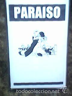 Paraiso - maketas 1979-1981 - Antes kaka de Luxe - luego La Mode, pop Decó, fernando Marquez, etc.. segunda mano