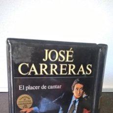 Casetes antiguos: JOSE CARRERAS. EL PLACER DE CANTAR. 2 CASETES SIN ESTRENAR EN SU FUNDA DE PLATICO. . Lote 58012950