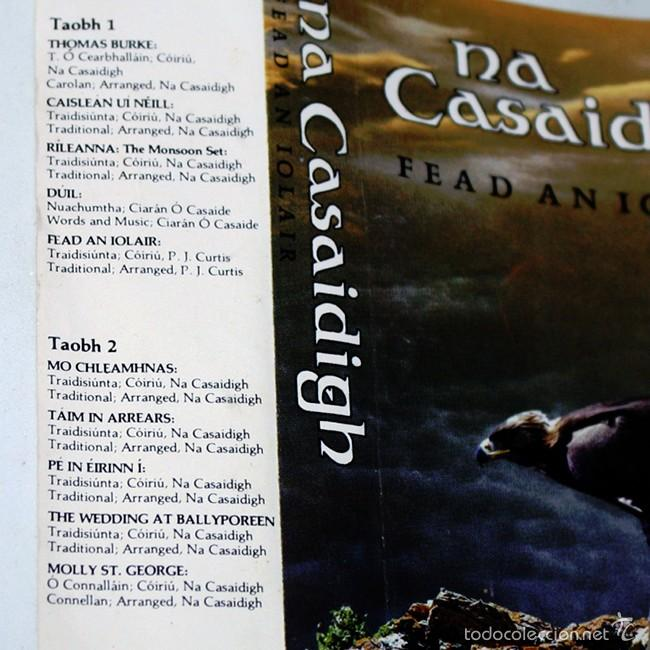 Casetes antiguos: Na Casaidigh - Fead an Iolair - 1984 - Cassette Tape - Foto 2 - 58013590