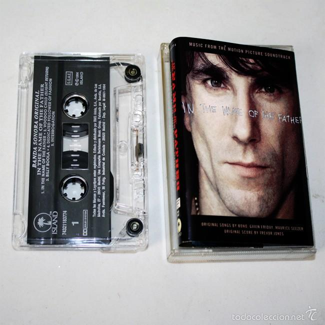 BANDA SONORA ORIGINAL - IN THE NAME OF THE FATHER - ISLAND - 1994 - CASSETTE TAPE (Música - Casetes)
