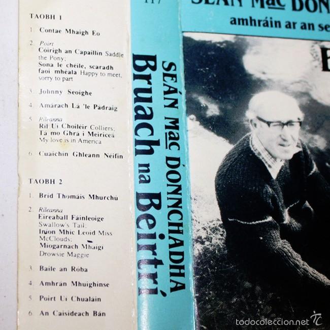Casetes antiguos: Sean Mac Donnchadha - Bruach na Beirtri - 1987 - Cassette Tape - Foto 2 - 58013988