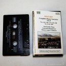 Casetes antiguos: WOLFGANG AMADEUS MOZART - COMPLETE PIANO CONCERTOS VOL. 8 - 1990 - CASSETTE TAPE. Lote 58063506