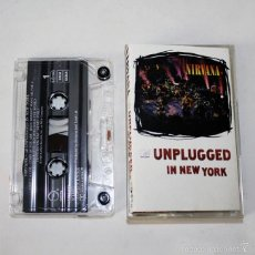 Casetes antiguos: NIRVANA - UNPLUGGED IN NEW YORK - MTV - 1994 - CASSETTE TAPE. Lote 58063830