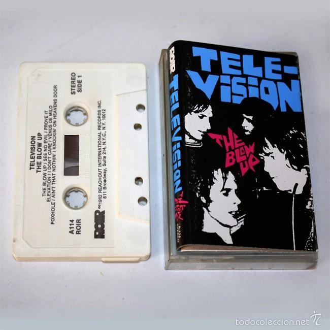 TELEVISION - THE BLOW UP - ROIR - 1982 - CASSETTE TAPE (Música - Casetes)