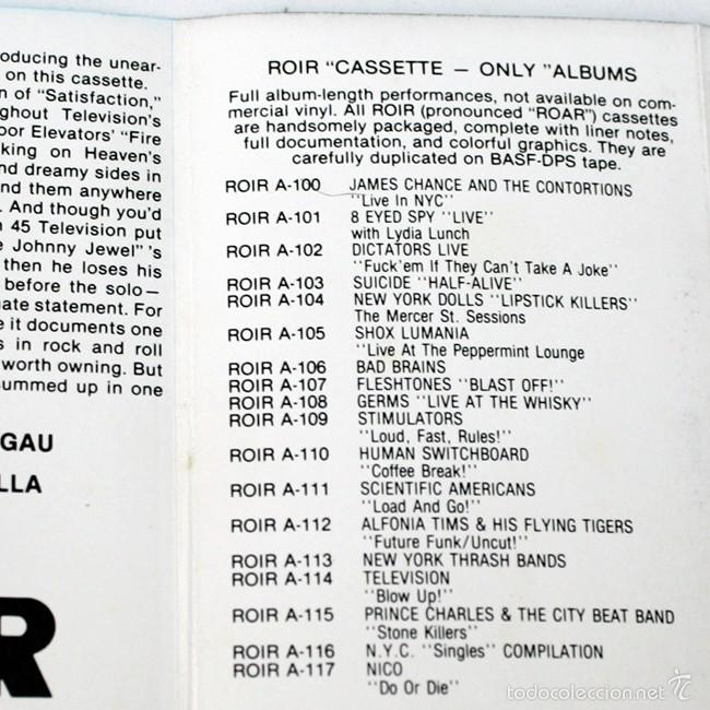 Casetes antiguos: Television - The Blow Up - ROIR - 1982 - Cassette Tape - Foto 2 - 58064261