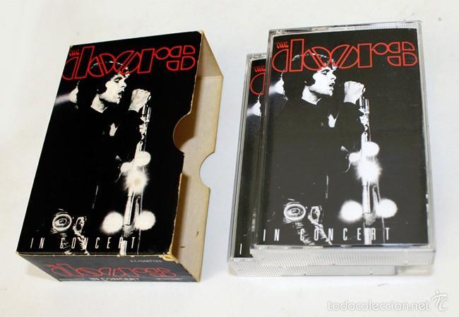 Casetes antiguos: The Doors - In Concert - Vol. 1 & 2 - Elektra- 1991 - 2 Cassette Tape - Foto 5 - 58064387