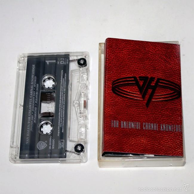 VAN HALEN - FOR UNLAWFUL CARNAL KNOWLEDGE - 1991 - CASSETTE TAPE (Música - Casetes)