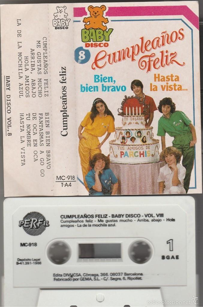 Parchis Cumpleanos Feliz Cassette Perfil 198 Comprar Casetes