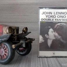 Casetes antiguos: JOHN LENNON, YOKO ONO. DOUBLE FANTASY. CASETE. PRECINTADO, SIN ABRIR. GEFFEN RECORDS C 90-317. Lote 58245072