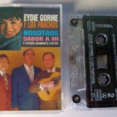Casetes antiguos: EYDE GORME Y LOS PANCHOS - NOSOTROS - CASSETTE - COLUMBIA 1998 SPAIN - COMO NUEVO. Lote 58295085