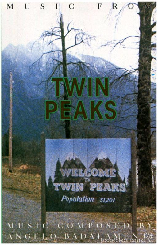 ANGELO BADALAMENTI – MUSIC FROM TWIN PEAKS - CASSETTE GERMANY 1990 - WB 7599-26316-4 (Música - Casetes)
