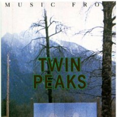 Casetes antiguos: ANGELO BADALAMENTI – MUSIC FROM TWIN PEAKS - CASSETTE GERMANY 1990 - WB 7599-26316-4. Lote 71588578