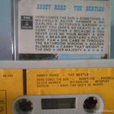 Casetes antiguos: THE BEATLES - ABBEY ROAD. Lote 58425780