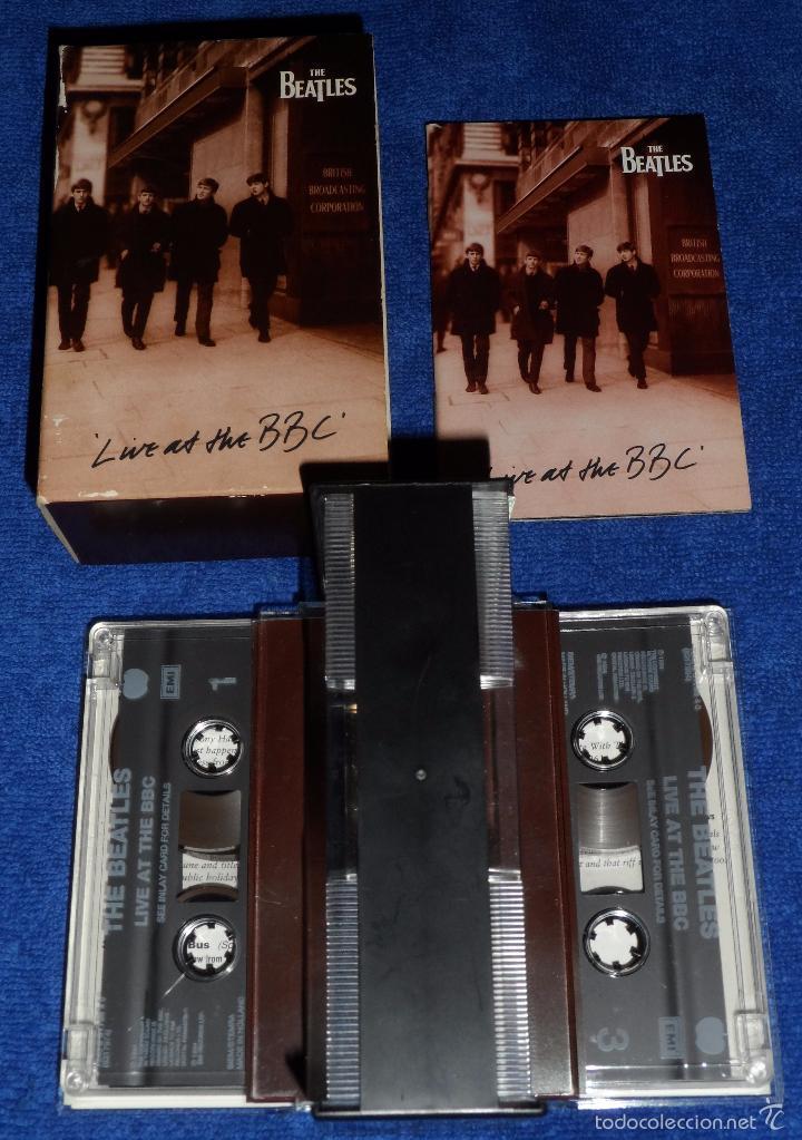 Casetes antiguos: The Beatles - Live at the BBC - Casete doble - Foto 3 - 58537071
