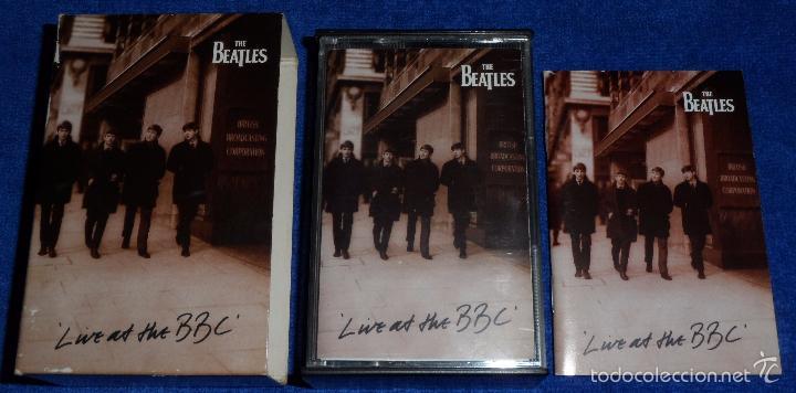 Casetes antiguos: The Beatles - Live at the BBC - Casete doble - Foto 4 - 58537071