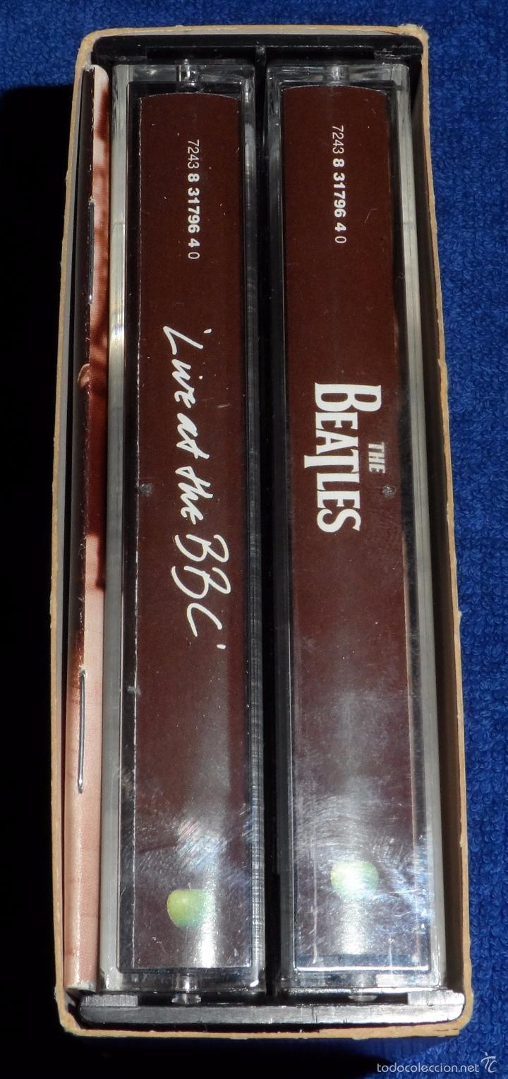 Casetes antiguos: The Beatles - Live at the BBC - Casete doble - Foto 6 - 58537071