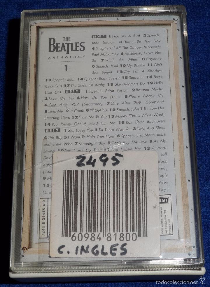 Casetes antiguos: The Beatles - Anthology - Casete doble - Foto 3 - 58537107