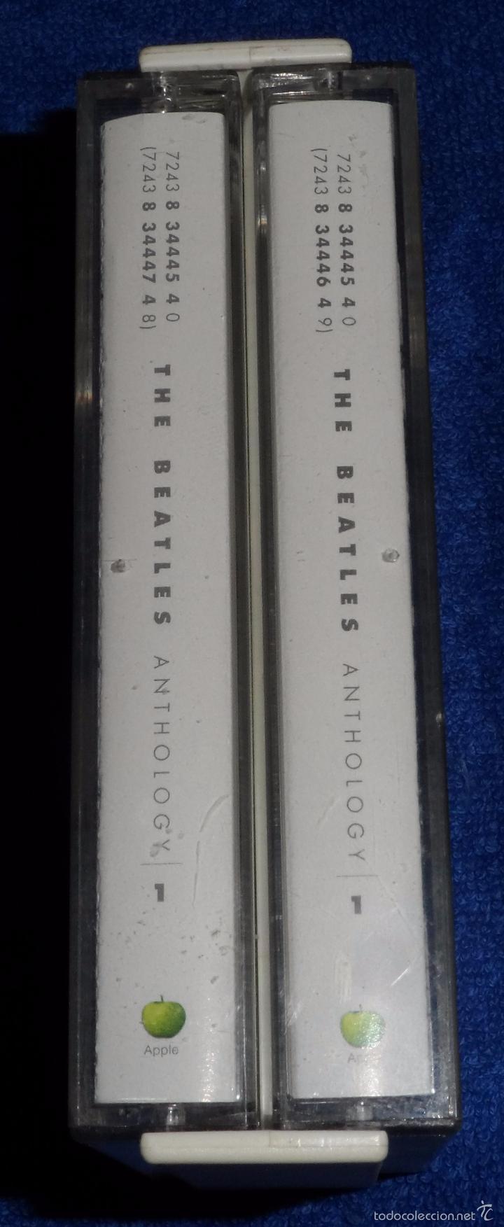 Casetes antiguos: The Beatles - Anthology - Casete doble - Foto 4 - 58537107