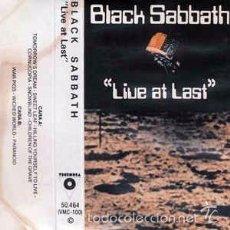 Casetes antiguos - Black Sabbath - Live At Last (Discos Victoria, VMC100, Casete 1984) - 60881879