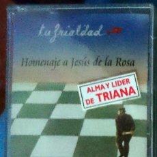 Casetes antiguos: TRIANA - TU FRIALDAD: HOMENAJE A JESÚS DE LA ROSA (FONOMUSIC, CD, 2000) BUNBURY, SABINA, PRECINTADA!. Lote 61172687