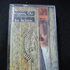 Casetes antiguos: CASETE. STEPPING OUT. THE VERY BEST OF JOE JACKSON.. Lote 61385587
