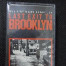 Casetes antiguos: CASETE. LAST EXIT TO BROOKLYN. MUSIC BY MARK KNOPFLER.. Lote 61385859