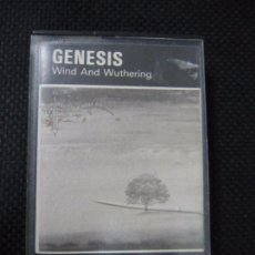 Casetes antiguos: CASETE. GENESIS. WIND AND WUTHERING. . Lote 61386463