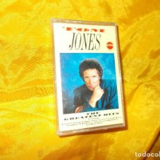 Casetes antiguos: TOM JONES. THE GREATEST HITS. EDITADO EN IRLANDA 1987. CASETE. Lote 61499795