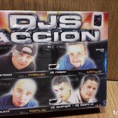 Casetes antiguos: DJS EN ACCIÓN. BOX-SET TRIPLE CASETE / TEMPO MUSIC - 2000 / PRECINTADO.. Lote 61743740