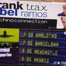 Casetes antiguos: FRANK T.R.A.X. / ABEL RAMOS. RECHNOCONNECTION. BOX-SET 3 CASETES /TEMPO MUSIC / PRECINTADOS.. Lote 132459045