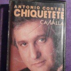 Casetes antiguos: CINTA DE CASSETTE - CASETE - CHIQUETETE - CANALLA - 1989 - RCA - 1989. Lote 107979486