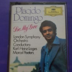 Casetes antiguos: PLACIDO DOMINGO. BE MY LOVE 1982. Lote 62191772