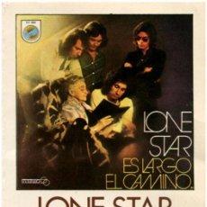 Casetes antiguos - Lone Star – Es Largo El Camino - Cassette Spain 1980 (Re) - Orange CO 1505 - 62287472