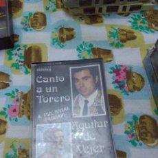 Casetes antiguos: AGUILAR DE VEJER. CANTO A UN TORERO A FCO. RIVERA PAQUIRRI. C3F. Lote 62991088