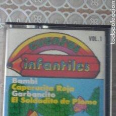 Casetes antiguos: CUENTOS INFANTILES.VOL1.. Lote 63322003